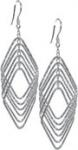 Серьги «Футура», длина: 7 см