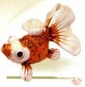 Сувенир «Золотая рыбка» (желтая) (1 шт.)